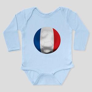 France Football Long Sleeve Infant Bodysuit