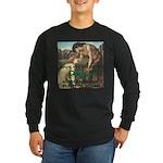 Personal Satyr Long Sleeve Dark T-Shirt