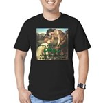 Personal Satyr Men's Fitted T-Shirt (dark)