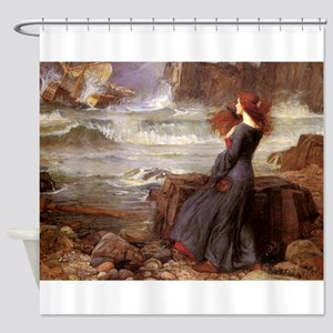Miranda The Tempest Shower Curtain