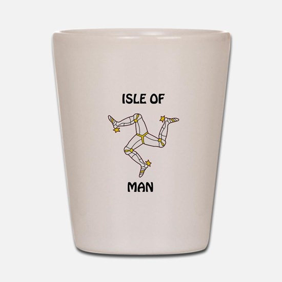 Isle of Man Shot Glass