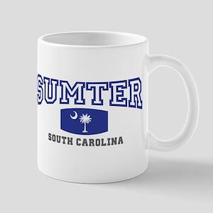 Sumter South Carolina, SC, Palmetto State Flag Mug
