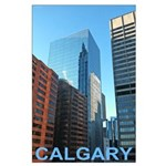 Downtown Calgary Poster