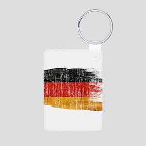 Germany Flag Aluminum Photo Keychain