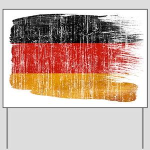 Germany Flag Yard Sign