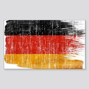 Germany Flag Sticker (Rectangle)