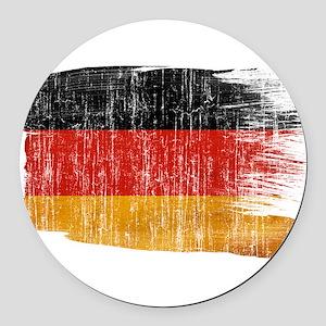 Germany Flag Round Car Magnet