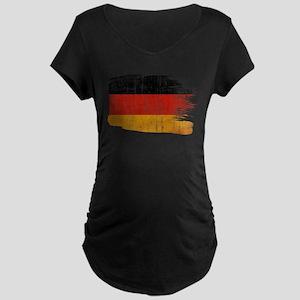 Germany Flag Maternity Dark T-Shirt