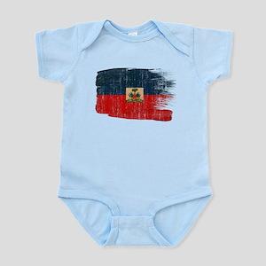 Haiti Flag Infant Bodysuit