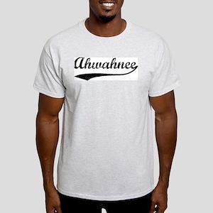 Ahwahnee - Vintage Ash Grey T-Shirt