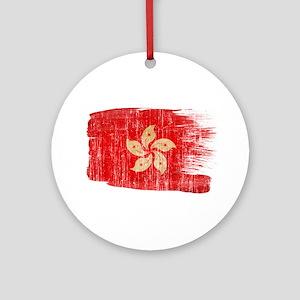 Hong Kongtex3-paint style aged copy Ornament (