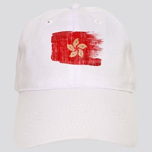 Hong Kongtex3-paint style aged copy Cap