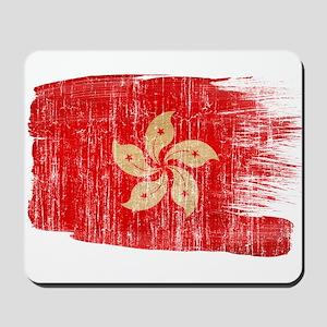 Hong Kongtex3-paint style aged copy Mousepad