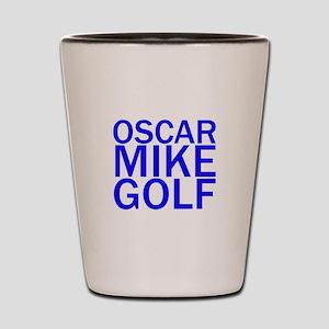 OMG-Blue Shot Glass