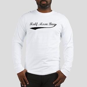 Half Moon Bay - Vintage Long Sleeve T-Shirt