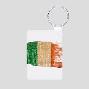 Ireland Flag Aluminum Photo Keychain