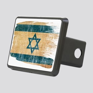 Israel Flag Rectangular Hitch Cover