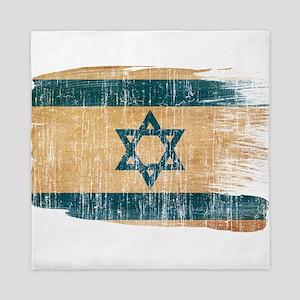 Israel Flag Queen Duvet
