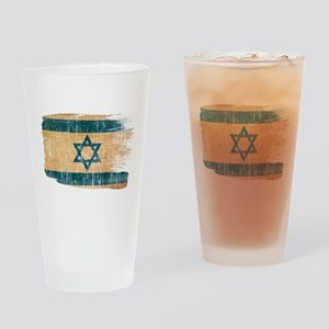 Israel Flag Drinking Glass