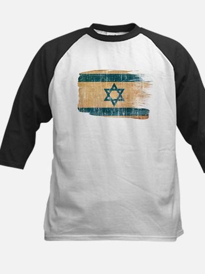 Israel Flag Kids Baseball Jersey