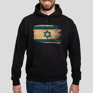 Israel Flag Hoodie (dark)