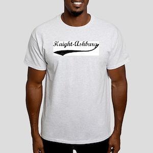 Haight-Ashbury - Vintage Ash Grey T-Shirt