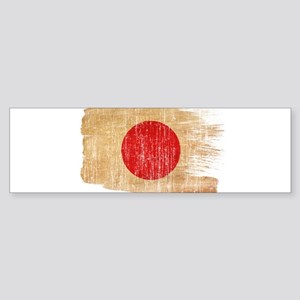 Japan Flag Sticker (Bumper)