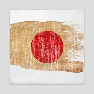 Japan Flag Queen Duvet
