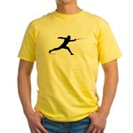 Lunge Yellow T-Shirt