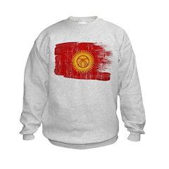 Kyrgyzstan Flag Sweatshirt