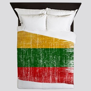 Lithuania Flag Queen Duvet