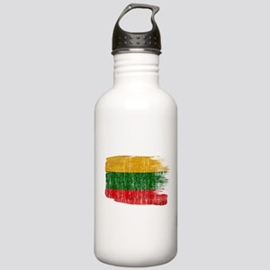 Lithuania Flag Stainless Water Bottle 1.0L