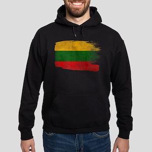 Lithuania Flag Hoodie (dark)