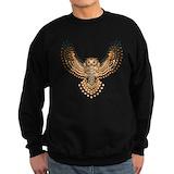 Horned owl Sweatshirt (dark)