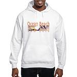 Ocean Beach Fire Island Hooded Sweatshirt