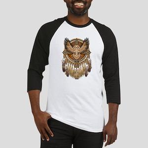 Native American Owl Mandala 1 Baseball Jersey