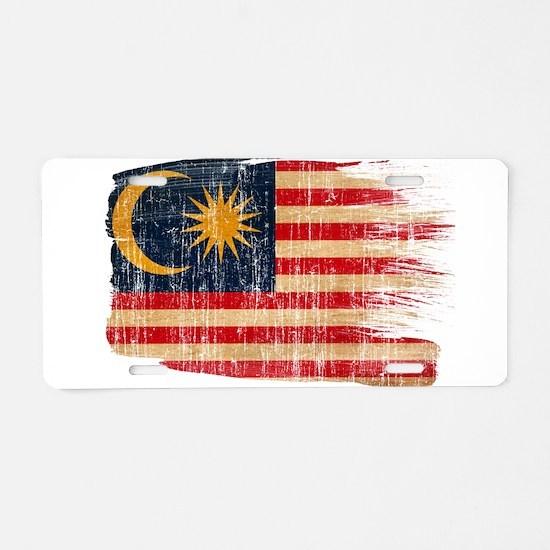 Malaysia Flag Aluminum License Plate