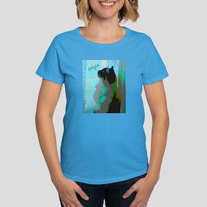 DollyCat Pondering - Ragdoll Cat - Women's Dark T-