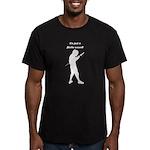 Flèche Wound Men's Fitted T-Shirt (dark)