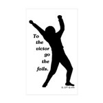 Victor Sticker (Rectangle 10 pk)