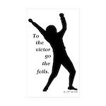 Victor Sticker (Rectangle 50 pk)