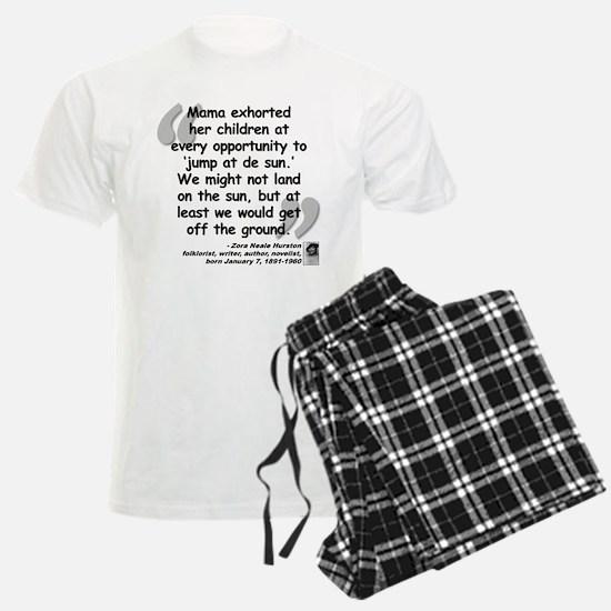 Hurston Mama Quote Pajamas