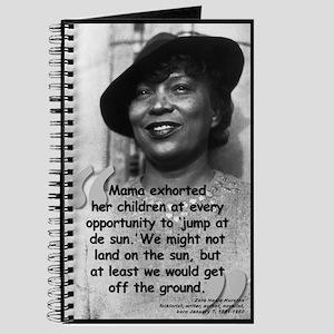 Hurston Mama Quote Journal
