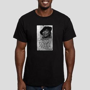 Hurston Mama Quote Men's Fitted T-Shirt (dark)