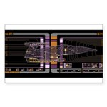 Nebula class MSD Sticker (Rectangle 50 pk)