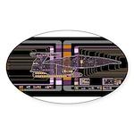 Nebula class MSD Sticker (Oval 10 pk)
