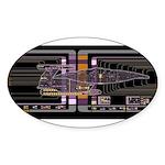 Nebula class MSD Sticker (Oval)