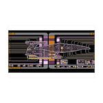 Nebula class MSD 38.5 x 24.5 Wall Peel