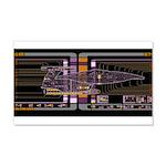 Nebula class MSD 22x14 Wall Peel