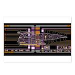 Nebula class MSD Postcards (Package of 8)